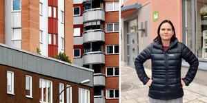 Orsaken till att hyresnivån är så låg, är historisk, enligt Lotta Björklund, vd på Mitthem.