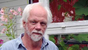 Nils Olof Hedenskog, konstnär i Stocka. Arkivbild