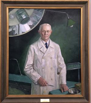 Porträttet som gett utställningen dess namn.