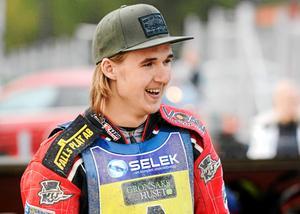 Joel Andersson, 21, har hittills inte fått köra någon match med Masarna.