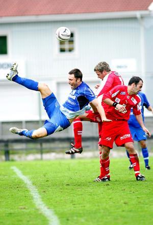 Christoffer Brännström har ett förflutet som fotbollsspelare i bland annat GIF-Sundsvall. Bild: Maria Nordholm.