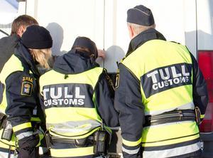 Smuggelbrotten utreds av Tullen. Foto: Erik Danielsson