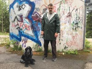 Hadrian Prett är riksspelman och vd för Eric Sahlström Institutet.Foto: Mia Lidbom