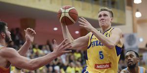 Tobias Borg gör comeback i landslaget vid nästa EM-kvalsamling. Foto: TT.