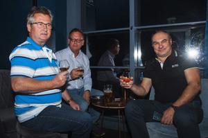 Skybar. Mikael Johansson, Kenneth Hallgren och Csaba Balaspiri. Foto: Fabian Zeidlitz