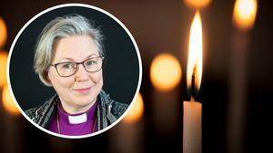 Eva Nordung Byström biskop i Härnösands stift.