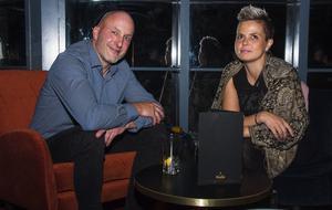 Skybar. Fredrik Björk och Anje Karlström. Foto: Fabian Zeidlitz