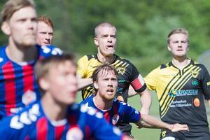 Lagkapten Gustav Gustafsson blev matchhjälte för Södra mot Yxhult.