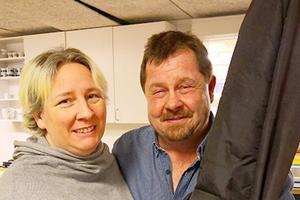 Erika Svedberg och jon Olofsson svarade för underhållningen. Foto: Lars Dahlquist