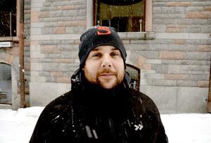 Sean Kettle, 27, elevassistent, Sundsvall: