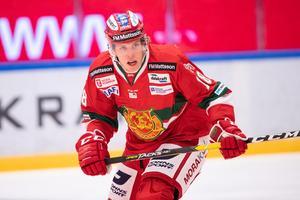 Emil Aronsson långtidsskadade sig under ett träningspass i november. Foto: Daniel Eriksson / BILDBYRÅN