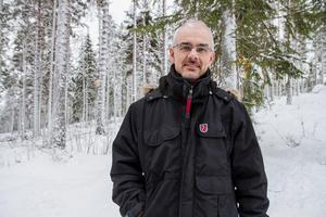 Benny Gäfvert är viltexpert vid rovdjurscentret De 5 Stora i Järvsö.