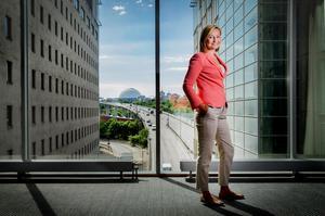 Ebba Busch Thor - partiledare (KD). /Arkivfoto