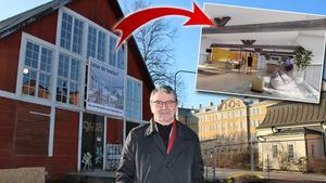 """Här förvandlas K-märkta Lägerhyddan till moderna kontor i Rynninge: """"En fantastisk byggnad"""""""
