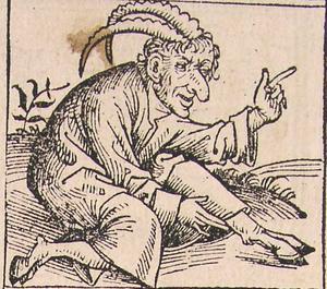 Djävulen illustrerad i  Hartmann Schedels