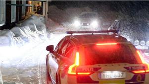 Bild från den misstänkta kidnappningen i Sundsvall.