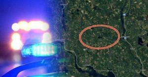 Skoterföraren försvann i skogen väster om Järkvissle.