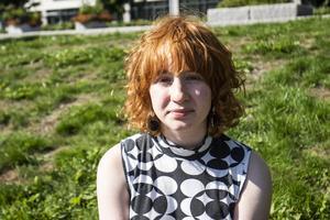 Line Löfström, 17, elev, Timrå.