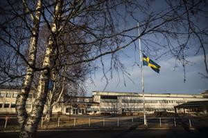 På Centralskolan i Malung där Elsa gick, var flaggan på halv stång efter olyckan och ljus tändes av eleverna.