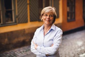 Suringen Ingrid Carlberg började sin karriär på VLT och är nu nominerad till Augustpriset för tredje gången. Foto: Kajsa Göransson