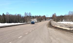 Etappen mellan Blåberget och Matfors siktar Trafikverket på att starta 2022.
