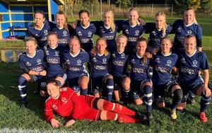 För andra året i rad har Östervåla IF:s damer tagit sig till final i Upplandscupen. Foto: Privat