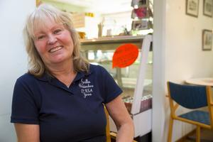 """""""jag älskar mitt jobb"""" säger Gunilla Israelsson."""