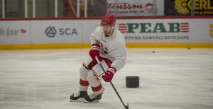 – Man har ju ändå fått sitta på sidan ett tag och man saknar ju hockeyn mycket, säger Carlson.