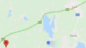 Kring 18.00-tiden letade polisen i ett område i närheten av Röfors i Laxå kommun.