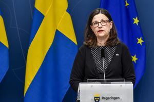 Anna Ekström. Foto: Henrik Montgomery/TT