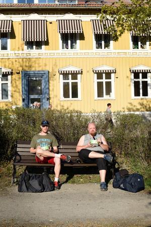 Samuel Åkerlund och Håkan Westberg.
