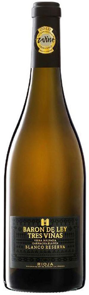 Baron de Ley Tres Viñas Reserva Blanco 2014.