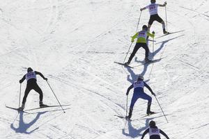 Sex åkare startade i årets upplaga av Värst på Gårdtjärnsberget.