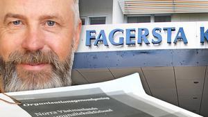 Stig Bergman (V) är ordförande i direktionen, den grupp politiker som styr NVK:s arbete.