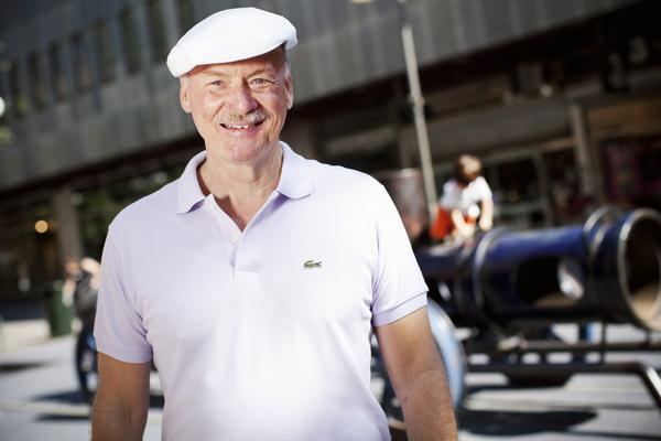 Perry Göransson är ordförande på Södertälje kammarmusikförening. Foto: Hampus Andersson
