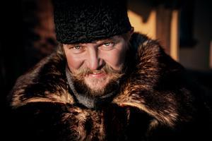 Sigurd Svendsen utanför Zorngården i Mora.