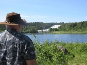 Rolf Johansson har passat på att resa till Norrland när sommaren inte riktigt blev som vanligt.