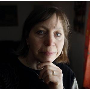 Eira Kunze Nilsson har diktat på jamska...Foto: Jan Andersson