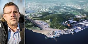 Området söder om Tunadalshamnen har identifierats som lämpligast för att bygga en effektiv infrastruktur där olika transportslag sammanstrålar för att möta det ökande transportbehovet av gods, skriver Sven Magnusson, vd Sundsvall Logistikpark.