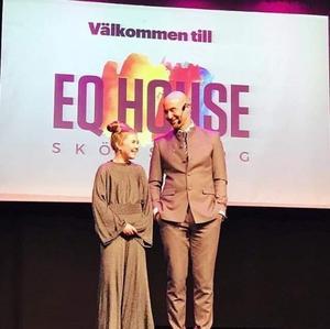 I januari i år fick Tess äran att presentera Mark Levengood när han föreläste på EQ House.