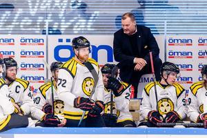 Sundquist tog över tränarsysslan i Brynäs efter Tommy Sjödin. Foto: Jonas Ljungdahl.