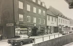 Stora gatan (ovanför Källgatan) 1984.