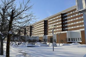 Mannen greps på Sundsvalls sjukhus och anhölls senare.