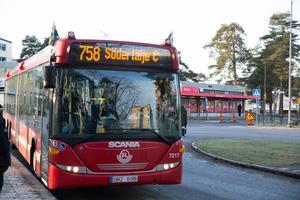 Busslinje 758.