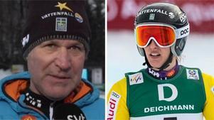 Förbundskaptenen ger inte mycket för att Kajsa Kling ska kunna komma med till OS. Bild: SVT/TT.