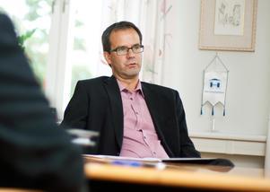 Göran Albertsson, vd Härnösandshus, är positiv att man kommit överens om de nya hyrorna innan årsskiftet.Foto: Jennie Johansson