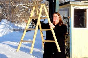 Christina Eriksson hoppas på ett lyft för Guldstegen i de nya lokalerna.
