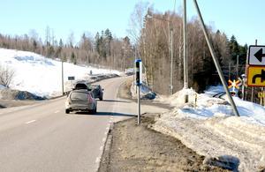 Tre fartkameror på E14 kommer att tas bort i samband med att den nya vägen byggs.