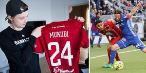 Jonathan Dahlén ser fram emot ett nytt derby mellan ÖFK och GIF Sundsvall. Under vintern köpte hockeyprofilen sin favoritspelares matchtröja och den åker på under lördagen.
