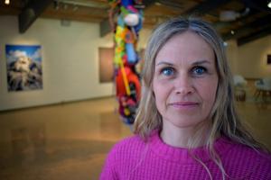Maria Friberg ställer ut fotografier på Rättviks konsthall.